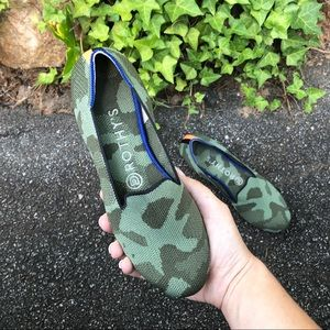 Rothy's   Olive Camo Loafers